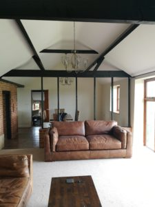 Lounge and Dining Room redecorated in Ingham